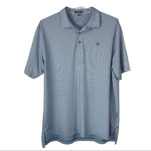 Peter Millar Summer Comfort golf polo men XXL blue